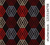 ethnic boho seamless pattern.... | Shutterstock .eps vector #1215134758