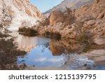 ein avdat   canyon in negev... | Shutterstock . vector #1215139795