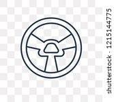 car steering wheel vector...   Shutterstock .eps vector #1215144775