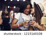 this is secret. portrait of... | Shutterstock . vector #1215160108