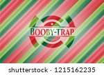 booby trap christmas badge.   Shutterstock .eps vector #1215162235