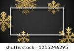 christmas  new year and winter... | Shutterstock .eps vector #1215246295