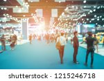 abstract blurred event with... | Shutterstock . vector #1215246718