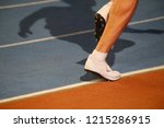 track and field athletics.... | Shutterstock . vector #1215286915