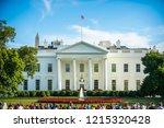 washington dc   august 27  2018 ...   Shutterstock . vector #1215320428