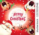 merry christmas christmas... | Shutterstock .eps vector #1215331948