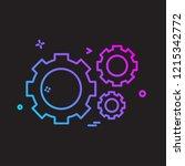 hardware tools icon design... | Shutterstock .eps vector #1215342772