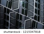 windows and metal security... | Shutterstock . vector #1215347818