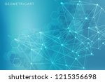 geometric abstract background... | Shutterstock .eps vector #1215356698