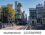 amsterdam netherlands october... | Shutterstock . vector #1215365905