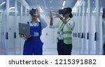 adult korean man and black...   Shutterstock . vector #1215391882