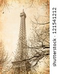 the eiffel tower  nickname la... | Shutterstock . vector #121541212