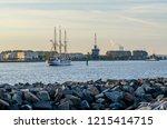 Harbor Entrance In Warnem Nde...