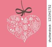 love love card | Shutterstock .eps vector #121541752