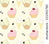 taste pattern | Shutterstock .eps vector #121541782