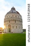a view of pisa cathedral  pisa ... | Shutterstock . vector #1215418468