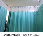 curtains in the waiting room at ... | Shutterstock . vector #1215440368
