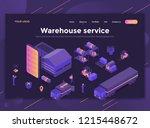 modern flat design isometric... | Shutterstock .eps vector #1215448672