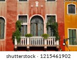 view of house windows and... | Shutterstock . vector #1215461902