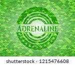 adrenaline realistic green... | Shutterstock .eps vector #1215476608