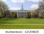 Stock photo baker library at harvard university school of business 12154825