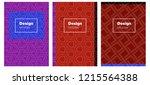 light blue  red vector template ...