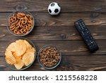 chips  snacks  crackers  snack... | Shutterstock . vector #1215568228