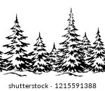 christmas holiday seamless... | Shutterstock .eps vector #1215591388