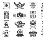 retro pictures and logos for... | Shutterstock . vector #1215602575