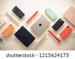 milan   italy october 29 2018...   Shutterstock . vector #1215624175