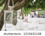 wedding celebration in...   Shutterstock . vector #1215631138