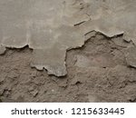 building damages on the wall | Shutterstock . vector #1215633445