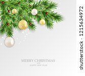 abstract holiday new year and... | Shutterstock .eps vector #1215634972