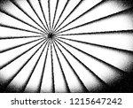 dotwork sun rays card or poster ... | Shutterstock .eps vector #1215647242