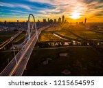 aerial drone view of dallas  ... | Shutterstock . vector #1215654595