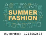 summer fashion collection word...
