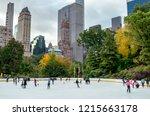 new york city   usa   october...   Shutterstock . vector #1215663178