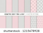 geometric vector patterns in... | Shutterstock .eps vector #1215678928