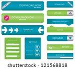 website download buttons   Shutterstock . vector #121568818