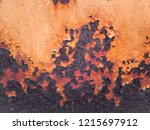 rust and corrosion in the weld... | Shutterstock . vector #1215697912