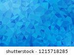 light blue vector polygonal...   Shutterstock .eps vector #1215718285