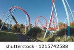 salou   october 7  2018  the...   Shutterstock . vector #1215742588