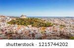 panorama of velez malaga. velez ... | Shutterstock . vector #1215744202