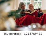 senior couple having a relaxing ...   Shutterstock . vector #1215769432