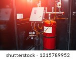 modern industrial automatic... | Shutterstock . vector #1215789952