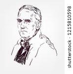 Alexander Fleming Vector Sketc...