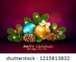 vector illustration for merry... | Shutterstock .eps vector #1215813832
