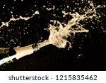 celebration theme with... | Shutterstock . vector #1215835462