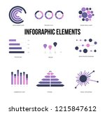 infographic elements  business... | Shutterstock .eps vector #1215847612