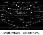 christmas lights  minimalism...